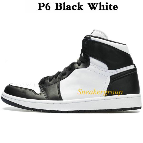 P6 Черный Белый