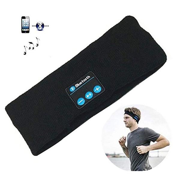 Bluetooth Sports Headphones Headband Music Washable Sweatband Bluetooth 5.0 Headset Reversible Speakers Great for Hiking Running Skateboard