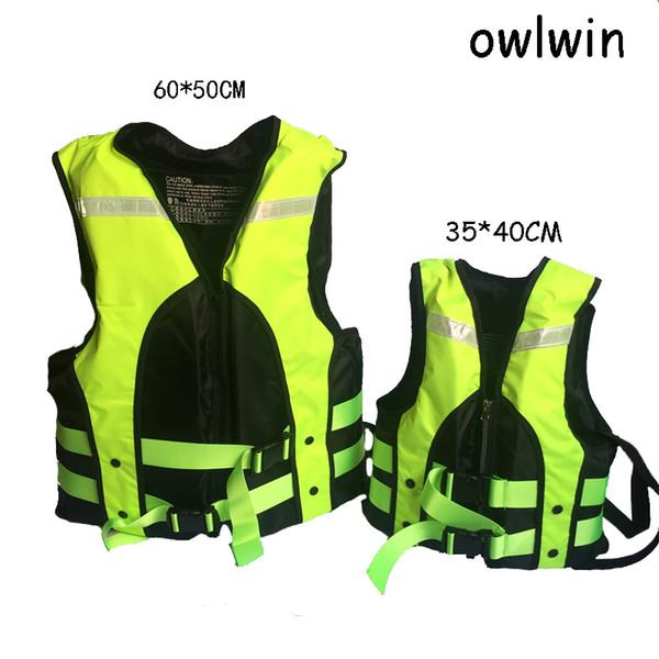 owlwin LIFE VEST giubbotto salvagente per bambini Giubbotto salvagente da pesca Gilet da donna gonfiabile per uomo adulto lifevest Alta qualità