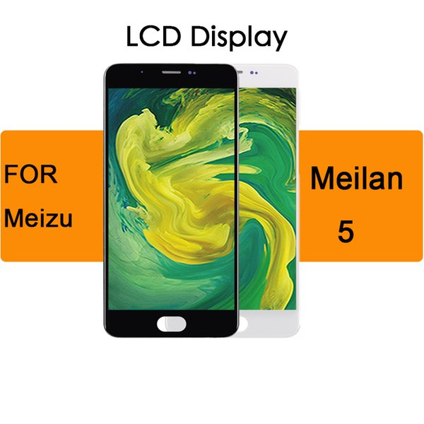 Display Module LCD 1280x720 For MEIZU M5 Lcd Display 5.2inch Touch Screen Digitizer with Frame M611H