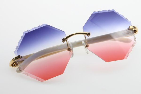 Gold Blue Red Lens