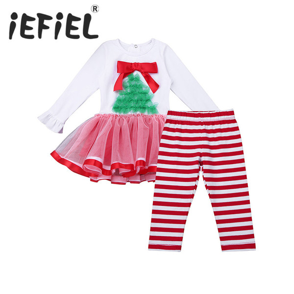 8f07f20e4 iEFiEL Newborn Girl Toddler Baby Outfits Romper Jumpsuit Dress with Pants  for Birthday Party Baby New