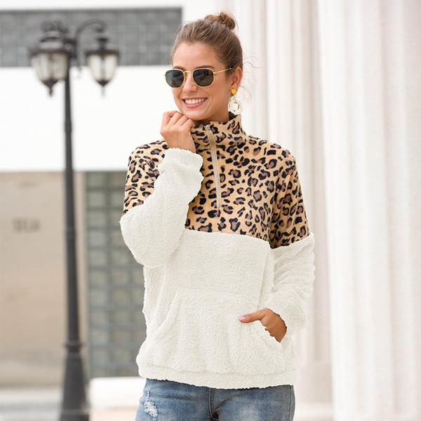 white + brown leopard