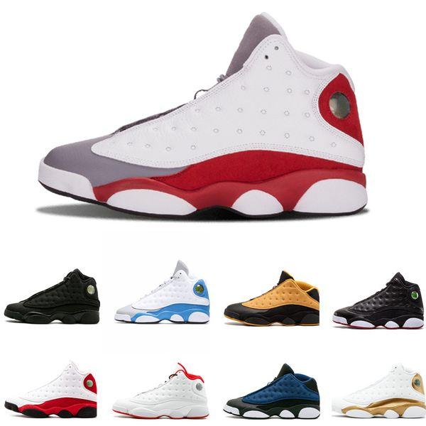 Compre Nike Air Jordan Aj13 Retro 2019 Gorra Y Bata Para Hombre Zapatos De Baloncesto 13 Atmósfera Criada Partícula Gris Descuento Zapatillas