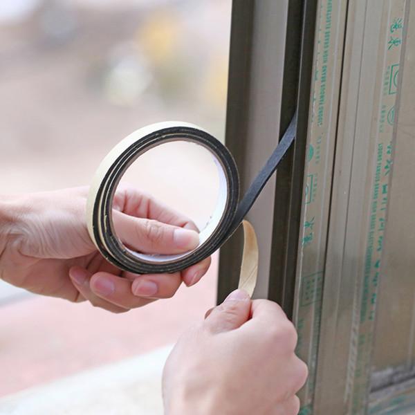 Hot sale Factory priceStove Gap Window Sealing Adhesive Tape Dust Proof Sink Stove Crack Strip 2M Black Waterproof Sealing Strip Model NumberSealing Strip Tape Size2m MaterialPE