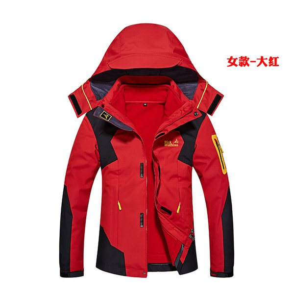2017 Women Outdoor Softshell Jackets Spring Autumn Waterproof Hiking Coats Windbreaker Thermal Sports Jackets For Camping Ski