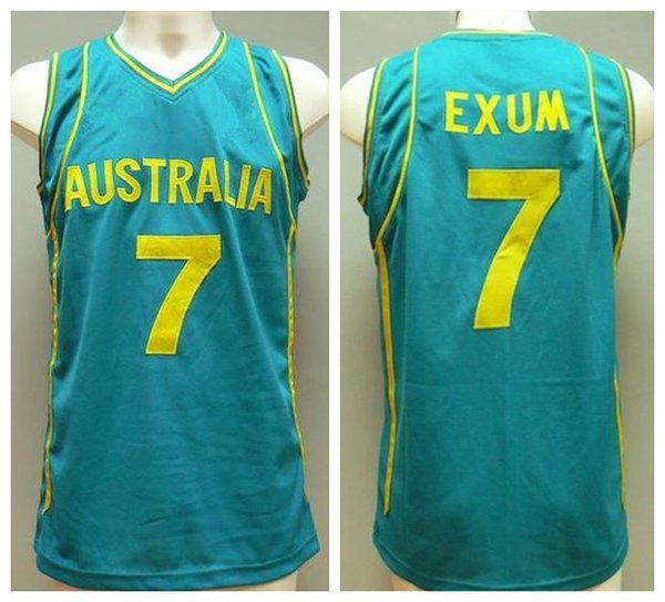 2019 7 Dante Exum Team Australia Retro Basketball Jersey Mens Stitched Custom Any Number Name Jerseys From Yufan5 23 35 Dhgate Com