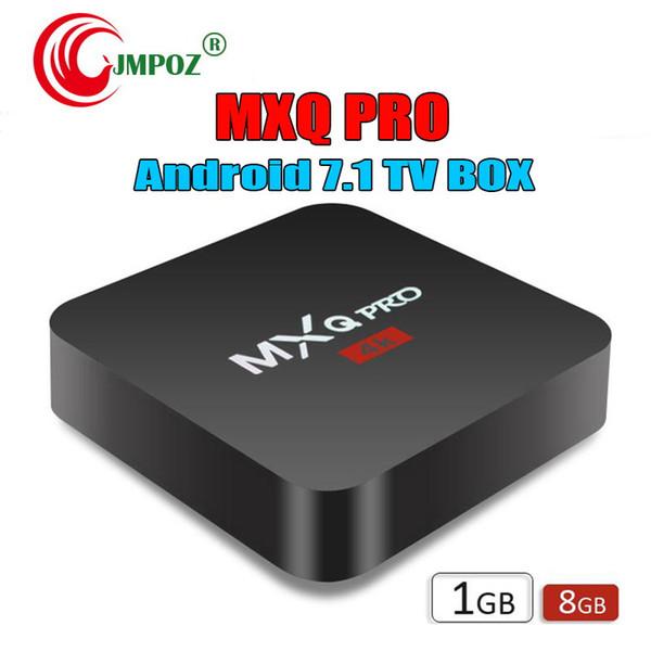 Завод продажа MXQ Pro 4K смарт Android 7.1 TV Box Rockchip RK3229 четырехъядерный Google Set Top Box IPTV медиа-плеер