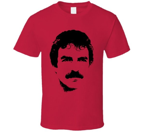 Magnum PI Retro TV Tom Selleck T-Shirt Jersey Druck T-Shirt Marke Hemden Jeans Druck Klassisches Qualitäts-High T-Shirt