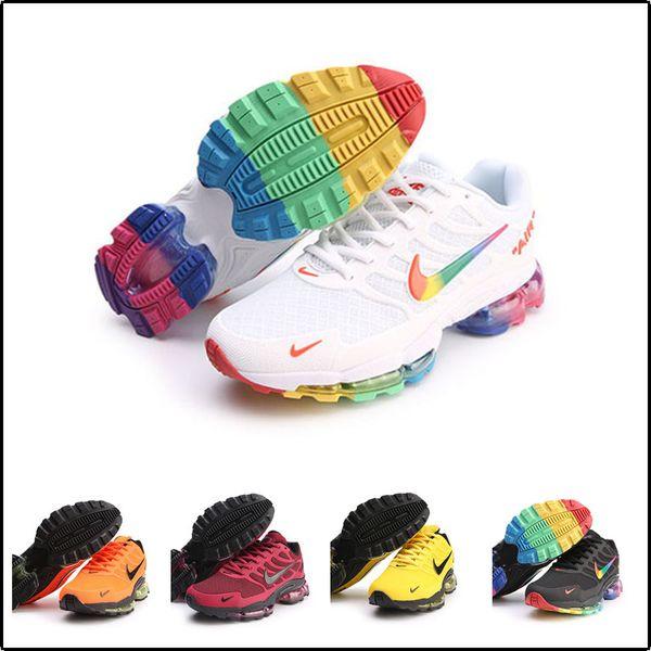 [С спортивные часы] подушка обувь подушка 2019 Designer shoes men women Nike AIR MAX новый нано капли воды пластиковые спортивный досуг работает дышащая мужская и женская обувь
