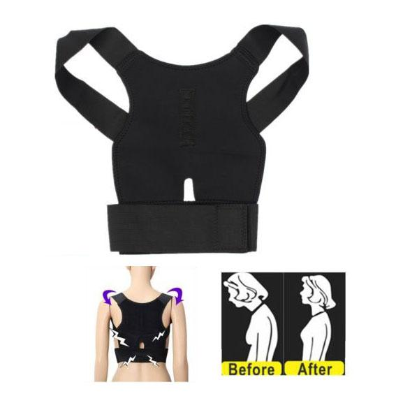 Magnetic Therapy Posture Support Corrector Correction Back Pain Lumbar Belt Shoulder Brace Body Care Bracer Support