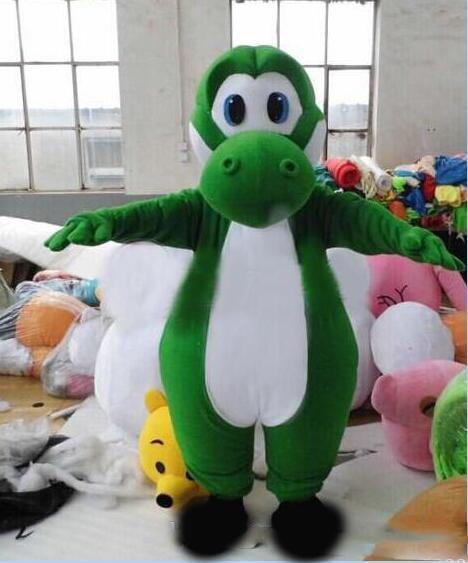 2018 High quality Mario yoshi mascot Costume Characters Costume Halloween Kids Party Gift Dress