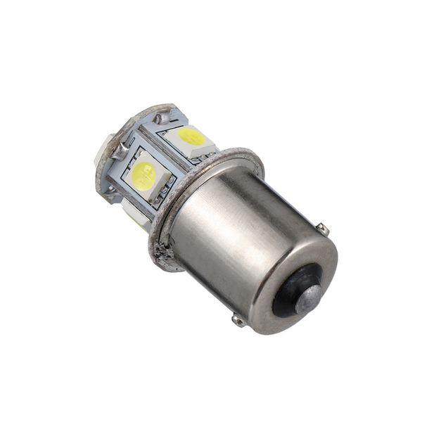 12v BA15S R5W 1156 5050 8SMD LED Car Tail Turn Signal Light Bulb White daytime running Bright brake driving light Lamp