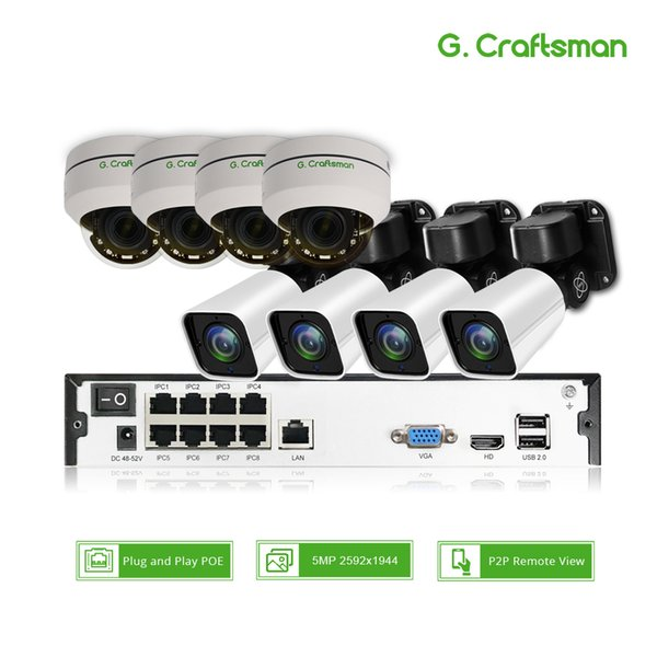 8ch PTZ 5MP POE H.265 System Kit 4X Optical Zoom CCTV Security 16ch NVR Outdoor Indoor Waterproof 2.8-12mm Security IP Camera