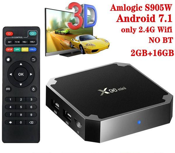 X96 البسيطة، 2 + 16GB، 2.4G واي فاي، NO BT