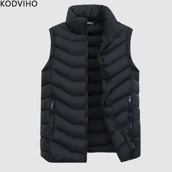 Mens Vest Jacket Men Casual Sleeveless Streetwear Warm Vest Man Winter Fashion Body Warmer Coat Men's Gilet Homme Chaleco Hombre