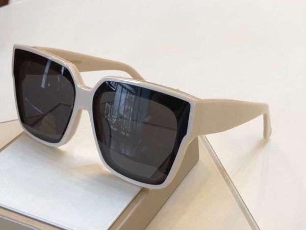 slM53 Black Shaded Square Sunglasses Glasses M53 gafas de sol luxury designer sun glasses Womens New with Box