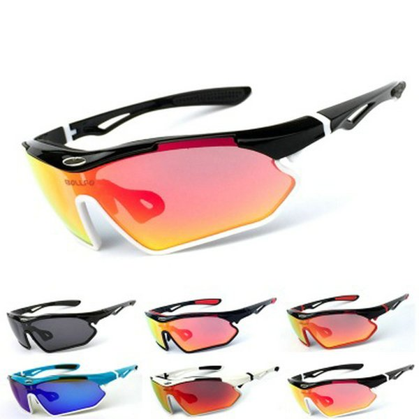 Designer Men Women Cycling Glasses Outdoor Sports Sunglasses Mountain Bike MTB Bicycle Glasses Motorcycle Sunglasses Eyewear with Box