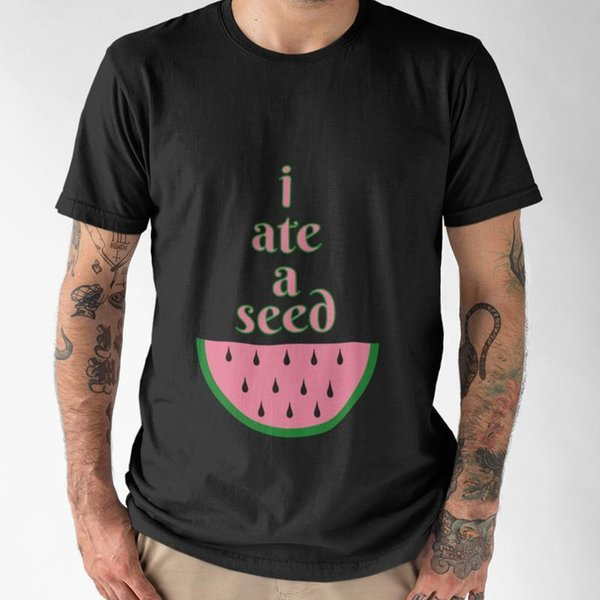 I ATE A SEED Mens BLACK T SHIRT SIZE S 5XLmens Pride Dark T Shirt T Shirts  Shopping Online T Shirts Sites From Yellowcup, $11 78| DHgate Com