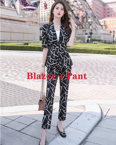 Blazer and Pant Set