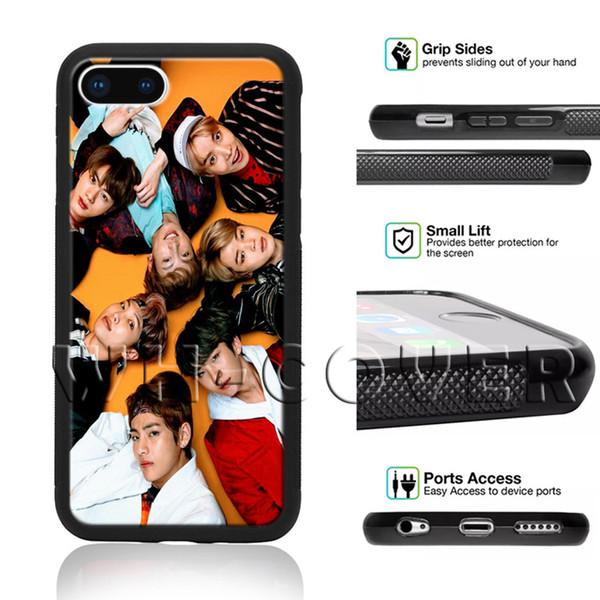 BTS Korean Kpop Band Finger Heart Bangtan BoyS South FE JungKook Jimin Jung Kook SDEG Phone Case For iPhone Samsung iX 6/7/8 XR MAX Plus SE