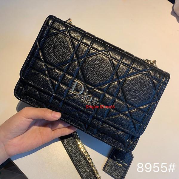Fashion high-end women's shoulder messenger bag simple shoulder female fashion handbag77726x