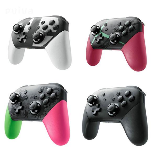 Para nintend switch pro controlador bluetooth sem fio gamepads joystick jogo console joypad host para nintend switch game console r20