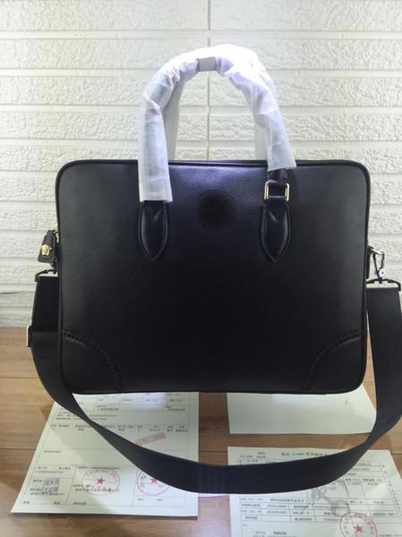 designer handbags Medusa head real leather briefcase purse luxury purse handbag real leather men business luxury purse handbag