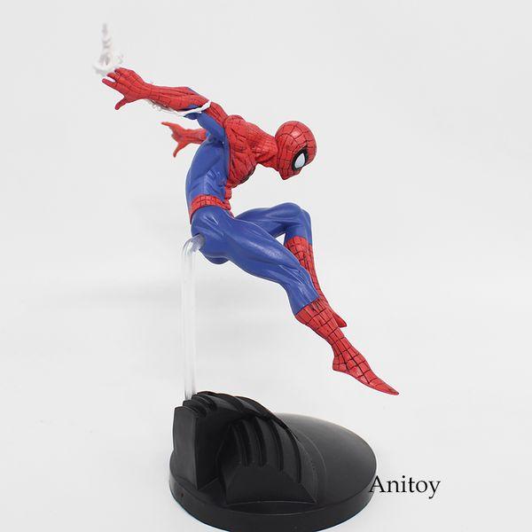 Série Spiderman Figurines Jouet d'action de Spider-Man Pvc Figurine de collection Modèle Toy 15cm Kt3711