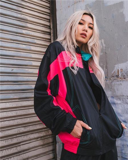 Erkek Kadın Rüzgarlık Marka Dış Giyim Ceketler Hiphop Streetwear Tasarımcı Kazak Fermuar Patchwork Mont Moda Uzun Kollu Spor LJJ98307