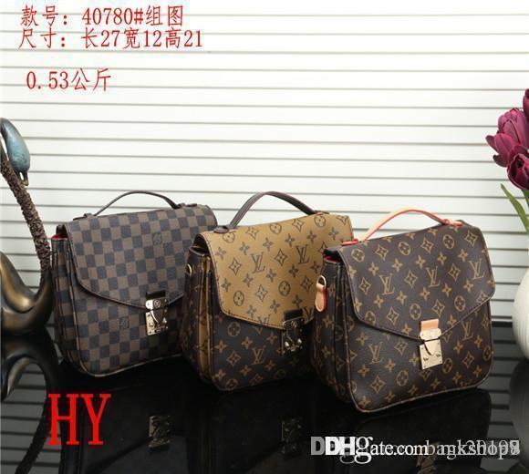 Yeni stiller Çanta Ünlü Tasarımcı Markası Moda Deri Çanta Kadın Bez Omuz Çantaları Bayan Deri Çanta Çanta çanta 66