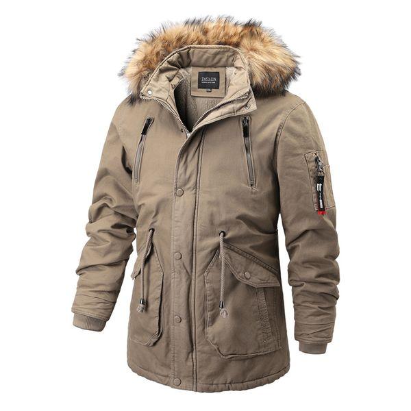 Mens Winter Parka Jacket