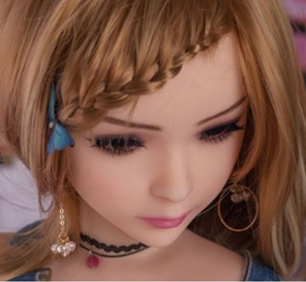 Asiático feminino lifesize silicone TPE Adulto mini amor Boneca para Homens 100 cm brinquedo sexual (MiXI)