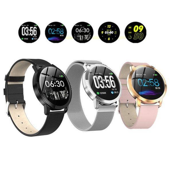 CF18 Men Women Smart Watch Blood Pressure Heart Rate Monitor Sport Activity Fitness Tracker Smartwatch connect Android Iphone