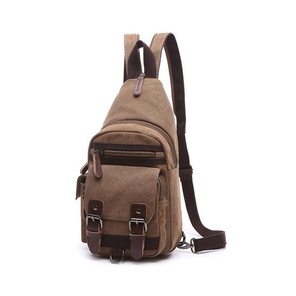 New 2019 Top Quality Men Messenger Bags Casual Travel Chest Canvas Handbags For Male Military Man Shoulder Bag Bolsas An686
