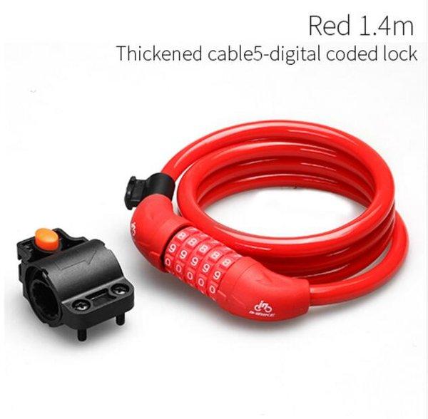 Red Code Lock140cm