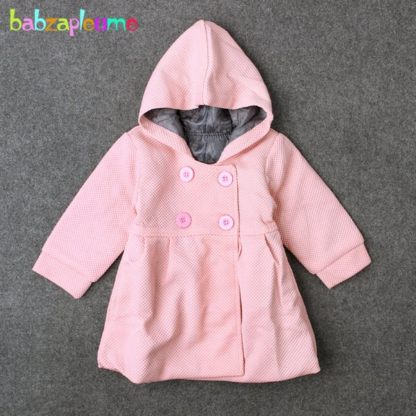 Newborn Infant Kids Baby Girls Autumn Winter Outerwear Coats Jackets Clothes NEW