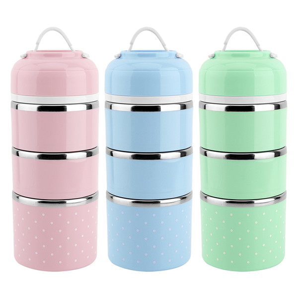 Cute Cartoon Japanese Thermal Lunch Box Leak-Proof Stainless Steel Lunch Box Kids Portable Picnic School Food Container Box C18112301