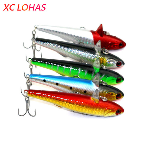 Lures 9cm 14.5g 3D Eyes Sinking Pencil Lure Hard Plastic Dog Pike Fishing Lure Saltwater Minnow Fishing Tackle PE001