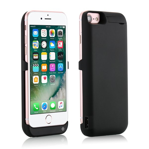 Free shipping 2017 10000mAh External power bank case Power pack Charger Backup Battery Case For iphone 7 Plus