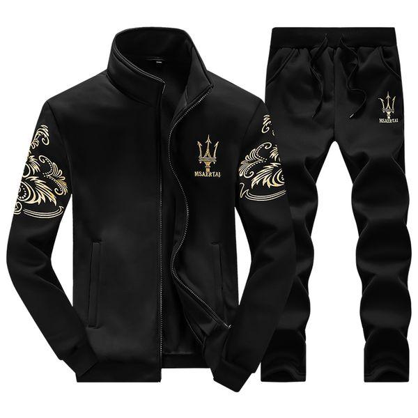 2019 Sport Suit Men Winter Tracksuits Brand Casual Sweatshirt Male Leisure Outdoor Men Sport Suits Fashion Brand Hoodie Mens Wholesale