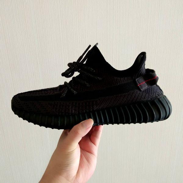 Топ Kanye West Boost True Form Гиперпространственная глина Статические белые кроссовки Полузамороженные черные серая дизайнерские кроссовки Green Sale