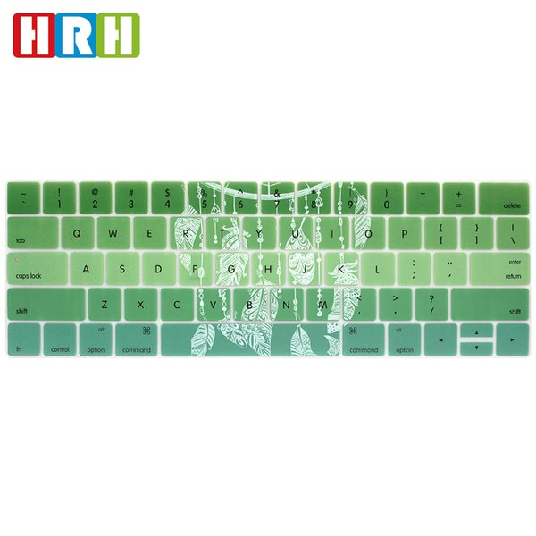 Dreamcatcher Rainbow US Silicone Keyboard Cover Keypad Skin for Macbook New Pro Touch Bar 13 A1706 A1989 Pro 15 A1707 A1990