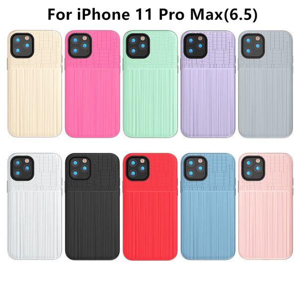 Híbrido escovado Armadura capa para iPhone 11 11 Pro 11 Pro Max Por Samsung A10E A10 A2 Núcleo Dual Layer Protector Tampa D