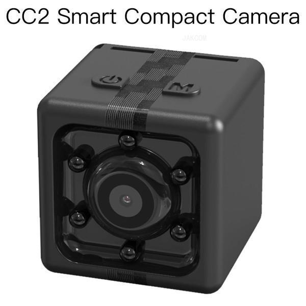 Venta caliente de la cámara compacta de JAKCOM CC2 en las cámaras de la caja como vídeo del fonógrafo del bolso de la cámara del negro del teléfono del tecno