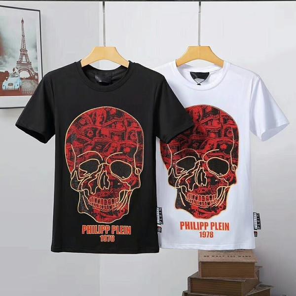 Novo Design de Estilo T Camisas dos homens Requintados E Personalidade T-shirts de Verão Perfeito Qualidade merecem o desgaste