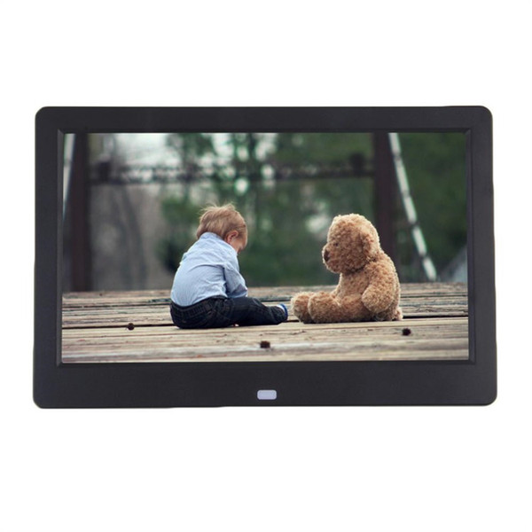 10 Zoll TFT LCD Digitaler Bilderrahmen Album MP4 Movie Player Wecker 16: 9 1024 * 600 JPEG / JPG / BMP MMC / MS / SD MPEG