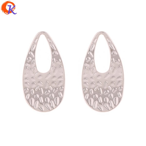 wholesale 100Pcs 18*34MM Jewelry Making/Earring Accessories/Drop Shape/DIY Earring Connectors/Hand Made/Earring Findings