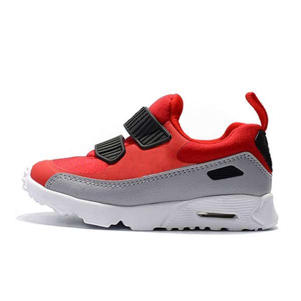 2019 new kids designer shoes baby 90 II shoe Sports Orthopedic Youth Kids trainers Infant Girls Boys running shoes 10 Colors Size 22-35