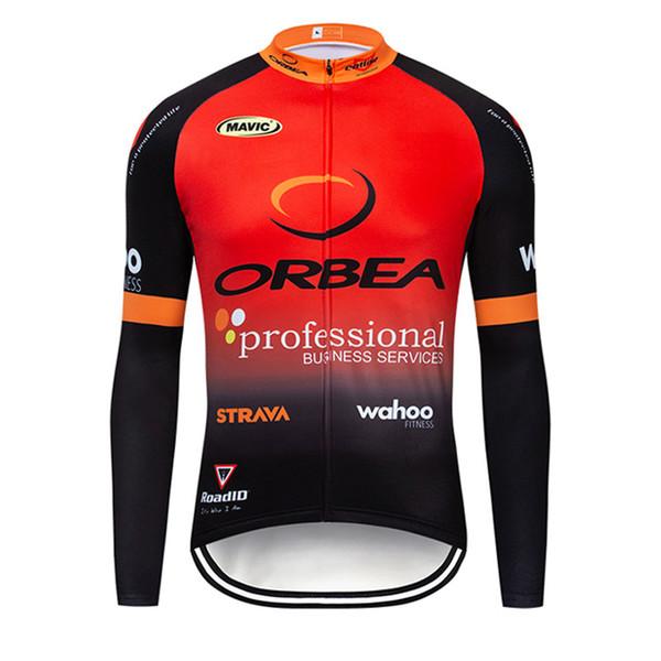ORBEA Team cycling jersey 2019 mens Sport uniforme mtb ropa clismo hombre abbigliamento ciclismo manica lunga bici maillot Y051328